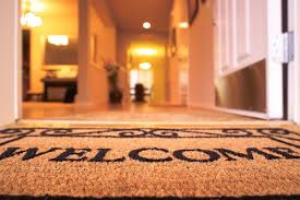 Open House Welcome Mat